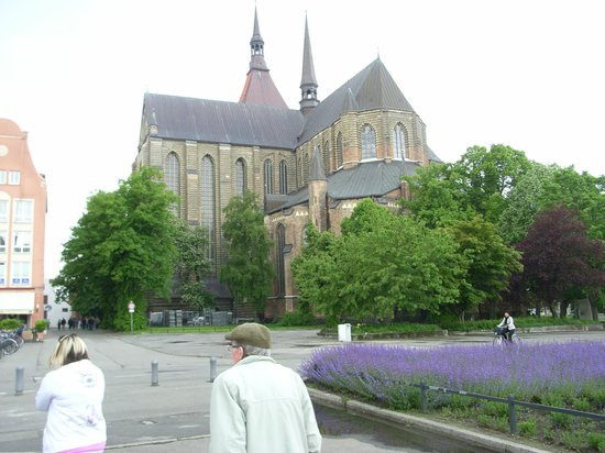 port of Rostock: Exterior of Church of Our Lady Rostock