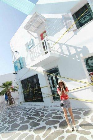 Santorini Park : ตกแต่งสถานที่เป็น theme น่ารักดี