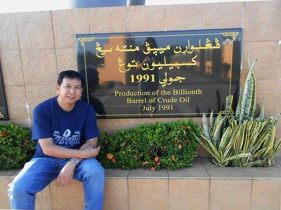 Billionth Barrel Monument : another billionth marker