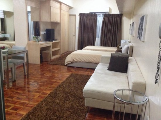BSA Mansion Condotel : My room for a week
