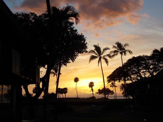 Maui Eldorado: Vista do Por do Sol do quarto