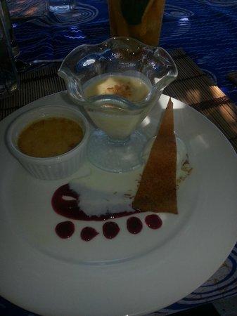 Baraza Resort & Spa: Dessert