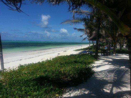 Baraza Resort & Spa: The beach view