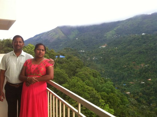 The Edge Munnar: View from the balconay