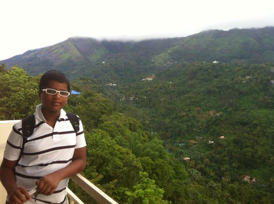 The Edge Munnar: View from the balcony