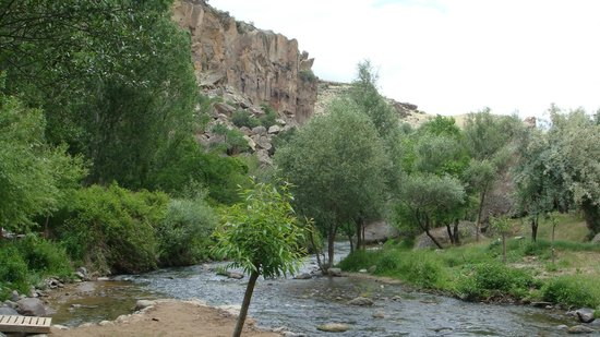 Ihlara Valley : The river that goes along.......