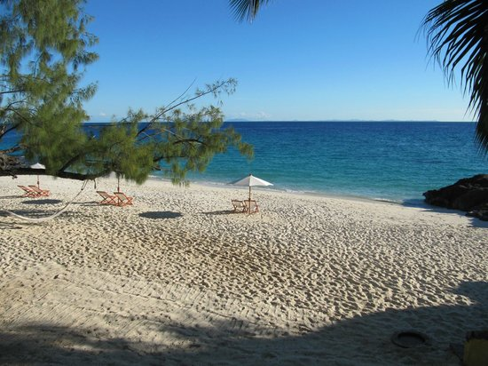 Constance Tsarabanjina: spiaggia