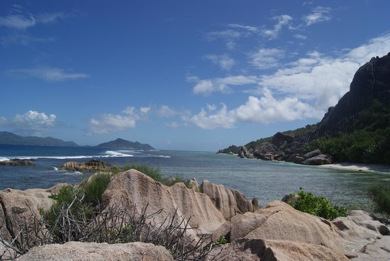Anse Source D'Argent : panorama stupendo