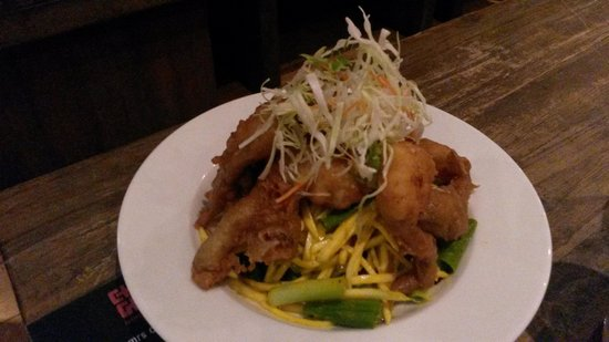Cho Gao Restaurant and Lounge : Mango salad with crab