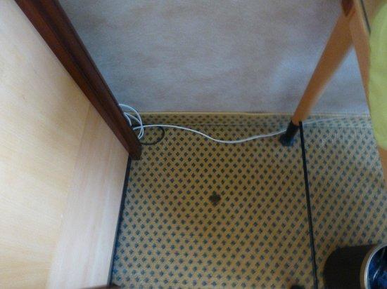Sheraton Brussels Hotel: la moquette