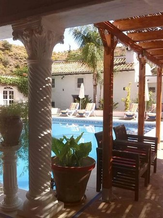 Finca Los Etera: pool side