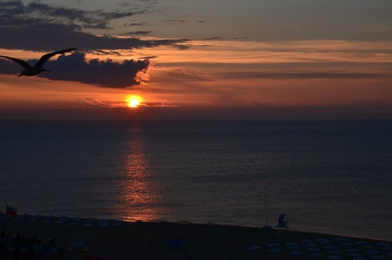 Hotel Admiral: Sun rise over the Black Sea