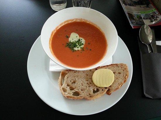 Kunsthal Rotterdam: Super zuppa al pomodoro e spezie.
