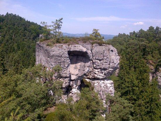Hruba Skala - Rock City: Rock formation