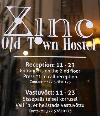 Zinc Old Town Hostel : Entrance