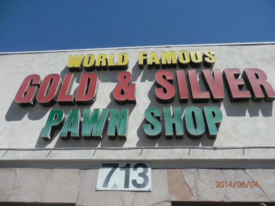 Gold and Silver Pawn Shop : Outside of the Pawn Shop
