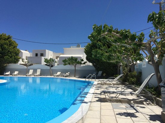 Hotel Hippocampus: Nice pool area