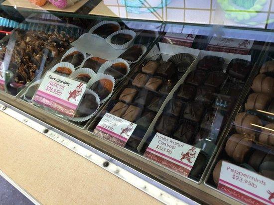 The Original Farmers Market : All sorts of chocolates