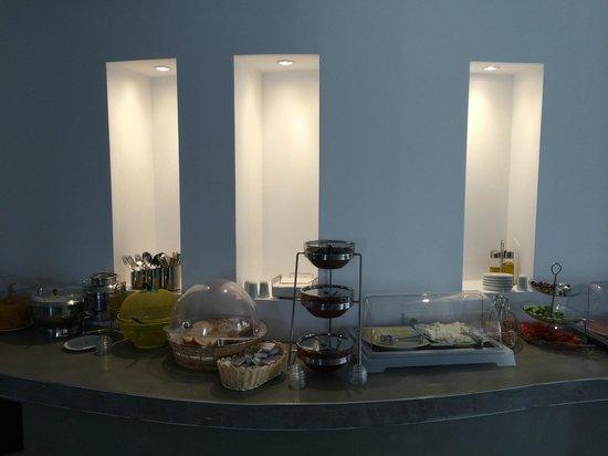 Hotel Hippocampus: New breakfast buffet