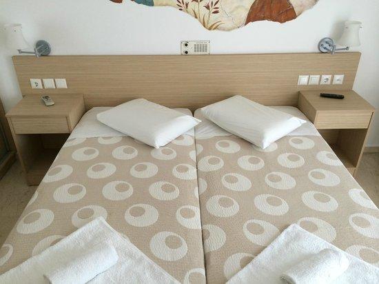 Hotel Hippocampus: Nice comfort bed