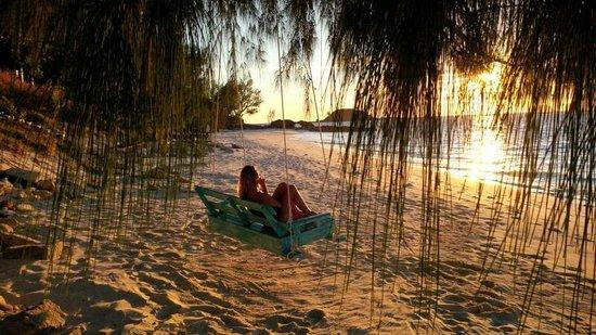 Nosy Mitsio, Madagascar: Il tramonto.