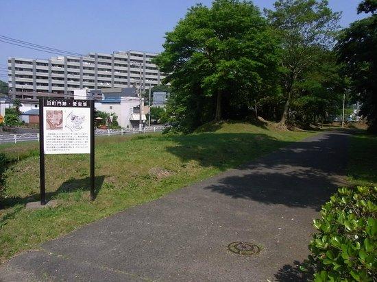 Sakura Castle Site Park: 01 田町門跡