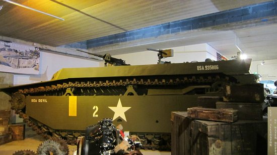 Normandy Tank Museum : interno