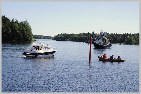 Varkaus is located in the beautiful Finnish lakeland, photo Harri Eronen