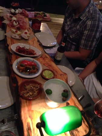 Jamie's Italian: Huge plank!