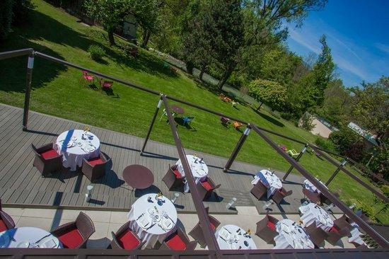 Hotel Baud : terrasse