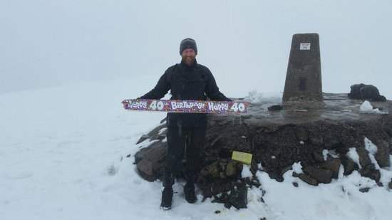 Ben Nevis: Summit for my brothers 40th x