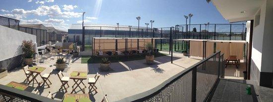Padel League Avila: Zona de terraza