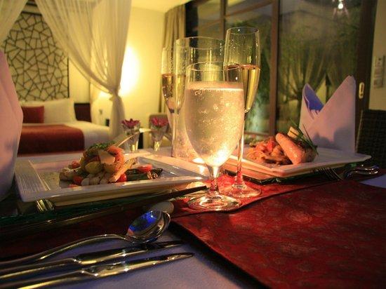 The Amala : Candlelit dinner