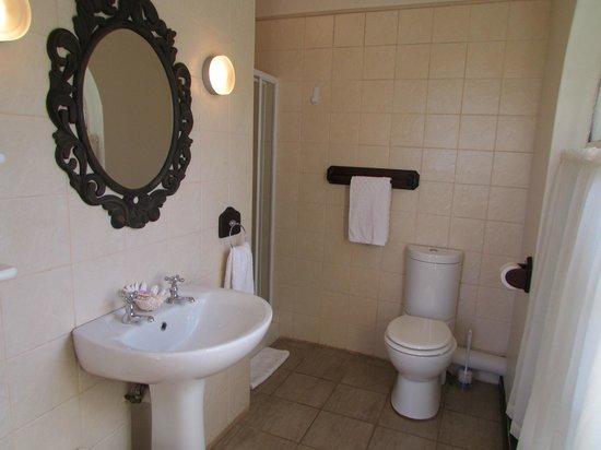 Bancroft B&B: The Double Suite en-suite bathroom (shower)