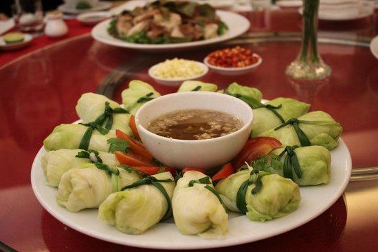 Muong Thanh Lang Son Hotel: Bắp cải quốn thịt