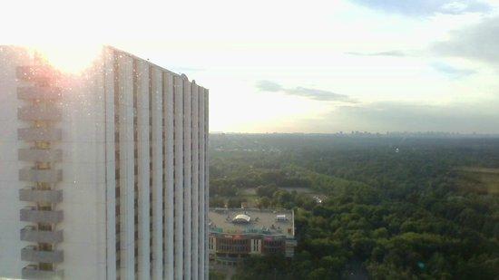 Beta Hotel Izmailovo: Вид из окна