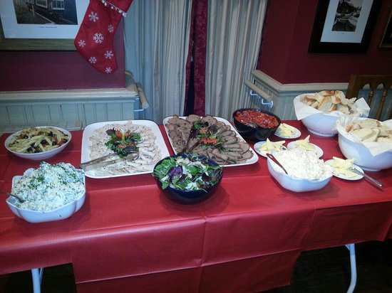 The New Inn: New years eve buffet