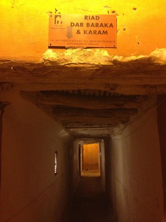 Hotel & Spa Dar Baraka & Karam: Entrance passageway