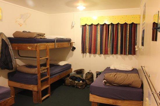 Tasman Bay Backpackers: Dorm room
