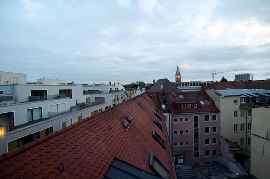 Mercure Hotel München City Center: вид из отеля