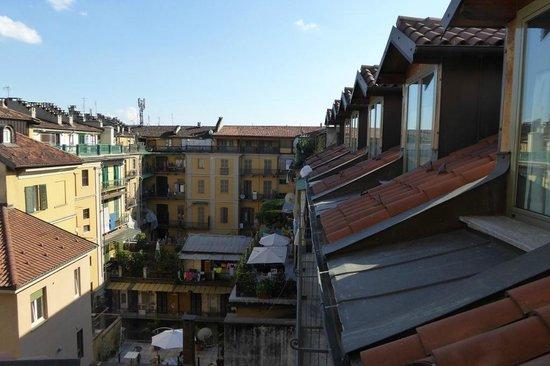 BEST WESTERN Crystal Palace Hotel : Blick in den Innenhof