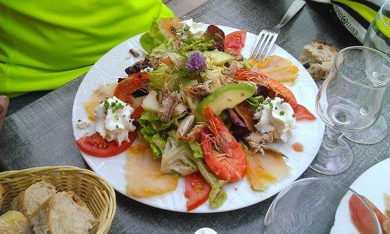 La Route du Sel : salade nordique