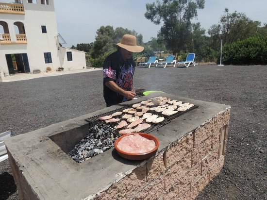 No Frills Excursions: Juan at the barbeque