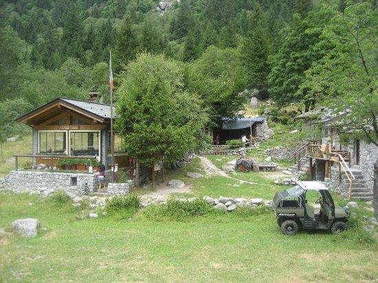 Riserva Naturale Val di Mello : Rifugio Rasega