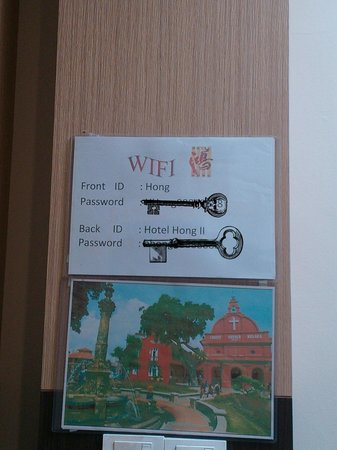 Hotel Hong: free wifi
