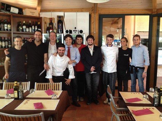 Camping Maremma Sans Souci: Staff FID e staff Cucina Maremma San Souci