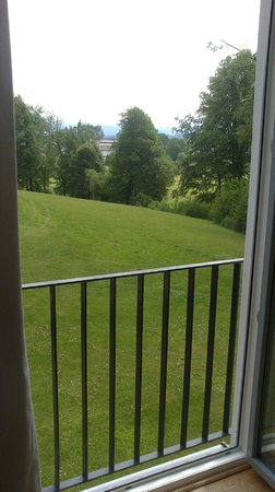 B&O Parkhotel: Blick aus Fenster DZ