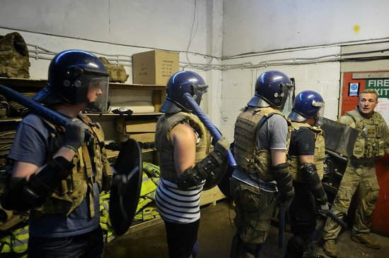 Zombie Boot Camp: Getting kitted out