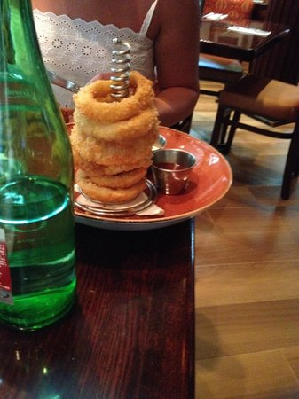Hard Rock Cafe Rome: Onion rings
