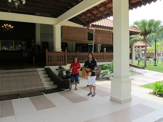 Sibu Island Resort: Welcome greetings